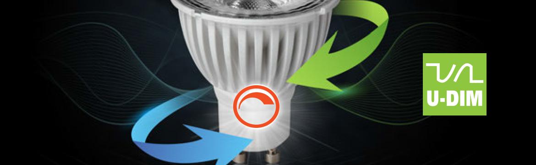 UDim voor het beste dim resultaat bij LED lampen